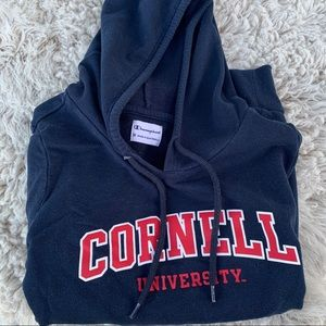 Champion Cornell University hoodie college gear